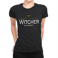 Witcher Draught - Womens Premium - T-Shirts - RIPT Apparel