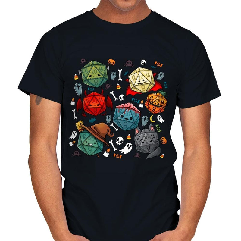 Halloween Dice - Mens - T-Shirts - RIPT Apparel