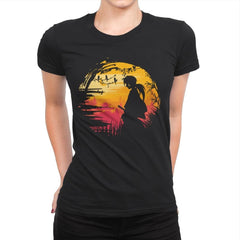 Samurai Journey - Womens Premium - T-Shirts - RIPT Apparel