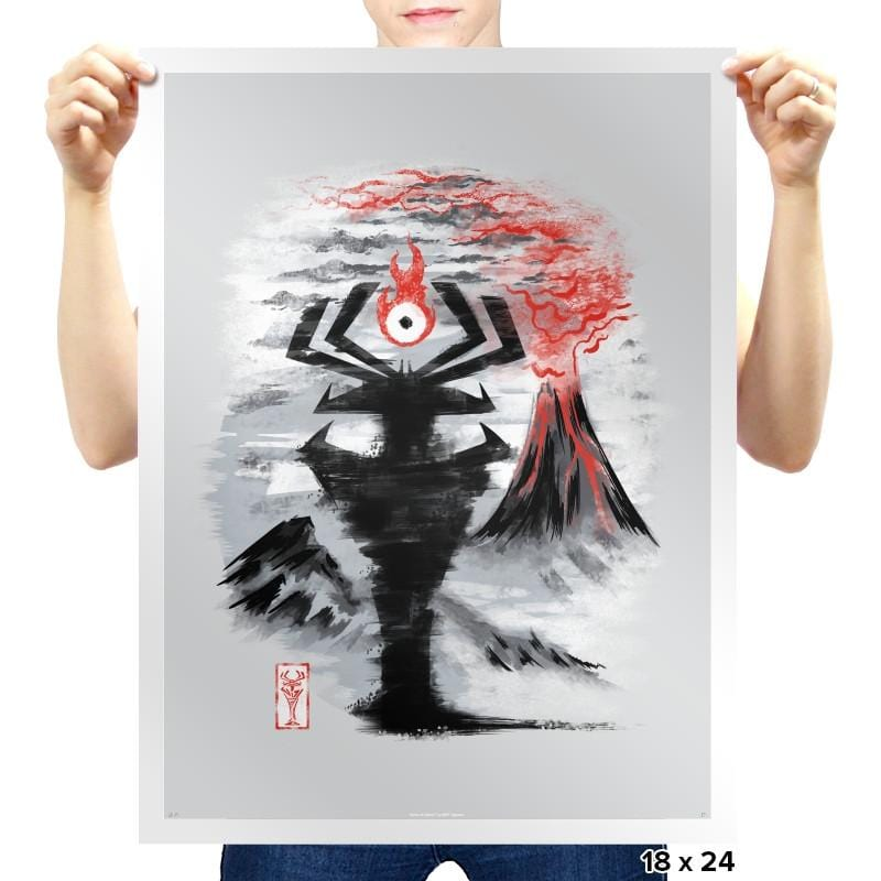 Eye of the Shadow - Prints - Posters - RIPT Apparel