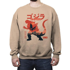 King of the Monsters Vol.2 - Crew Neck Sweatshirt - Crew Neck Sweatshirt - RIPT Apparel
