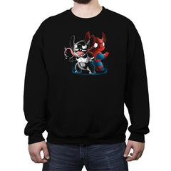 Spider Experiment Reprint - Crew Neck Sweatshirt - Crew Neck Sweatshirt - RIPT Apparel