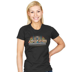 Morty's dinner - Womens - T-Shirts - RIPT Apparel
