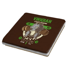 Viridian Gym - New Year's Evolutions - Coasters - Coasters - RIPT Apparel