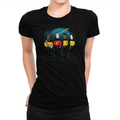 King of the Enterprise Exclusive - Womens Premium - T-Shirts - RIPT Apparel