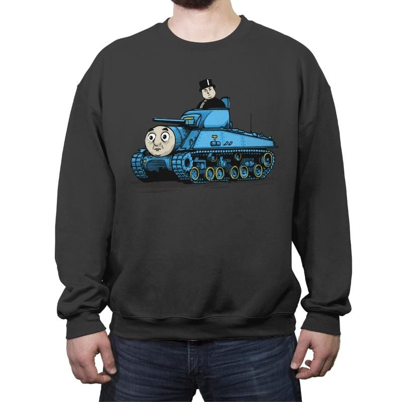 T. The Tank - Crew Neck Sweatshirt - Crew Neck Sweatshirt - RIPT Apparel