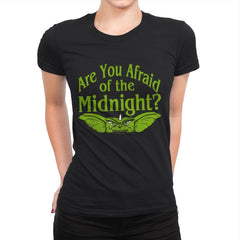 Are you afraid of the Midnight? - Womens Premium - T-Shirts - RIPT Apparel