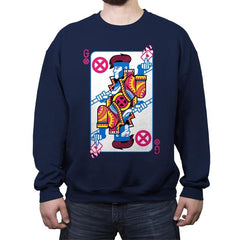Kinetic King - Crew Neck Sweatshirt - Crew Neck Sweatshirt - RIPT Apparel