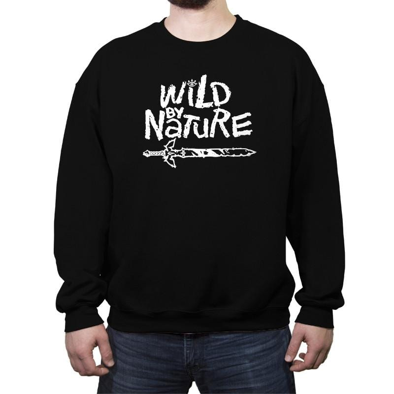 Wild by Nature - Crew Neck Sweatshirt - Crew Neck Sweatshirt - RIPT Apparel