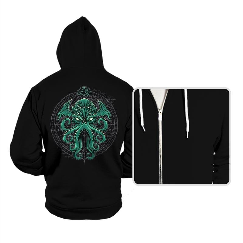 Great Cthulhu - Hoodies - Hoodies - RIPT Apparel