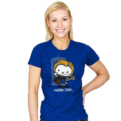 Hello 13th - Womens - T-Shirts - RIPT Apparel