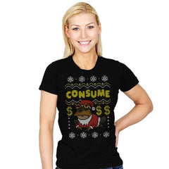 Consume! - Womens - T-Shirts - RIPT Apparel