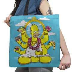 Homervana Exclusive - Tote Bag - Tote Bag - RIPT Apparel