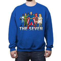 Cartoon Seven - Crew Neck Sweatshirt - Crew Neck Sweatshirt - RIPT Apparel
