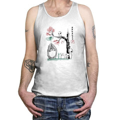 Growing Trees Sumi-e - Tanktop - Tanktop - RIPT Apparel