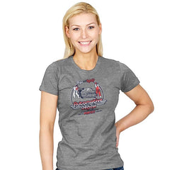Ryu and Ken's Automotive Repair Exclusive - Womens - T-Shirts - RIPT Apparel