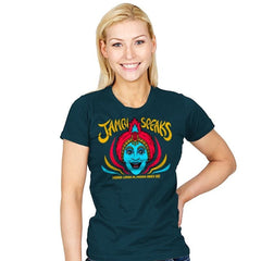Jambi Speaks - Womens - T-Shirts - RIPT Apparel
