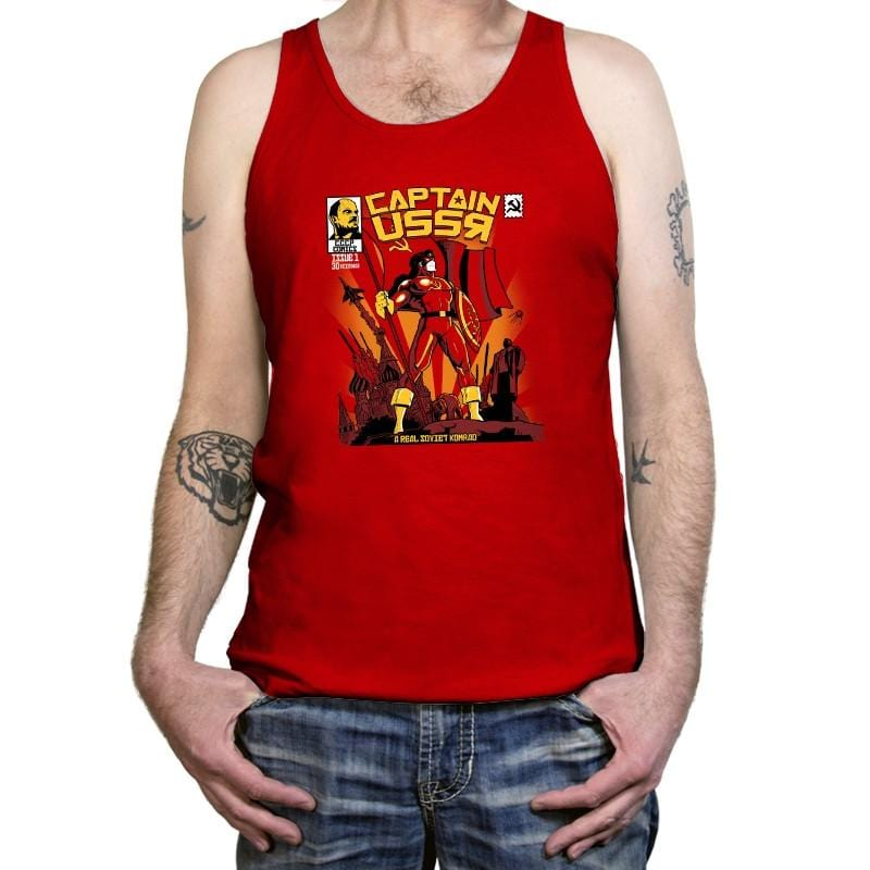 Captain USSR: Issue 1 Exclusive - Tanktop - Tanktop - RIPT Apparel
