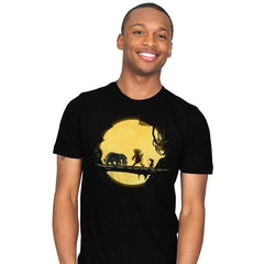 Lion Pooh - Mens - T-Shirts - RIPT Apparel