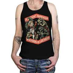 Wizards vs Lizards - Tanktop - Tanktop - RIPT Apparel