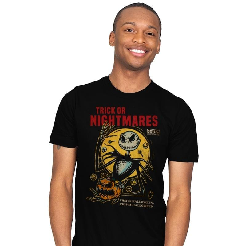Trick or Nightmares - Mens - T-Shirts - RIPT Apparel