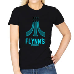 Flynn's Arcade - Best Seller - Womens - T-Shirts - RIPT Apparel