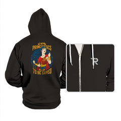 Not All Princesses Need to be Saved Reprint - Hoodies - Hoodies - RIPT Apparel