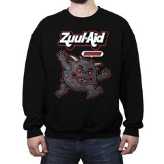 Zuul Aid - Crew Neck Sweatshirt - Crew Neck Sweatshirt - RIPT Apparel