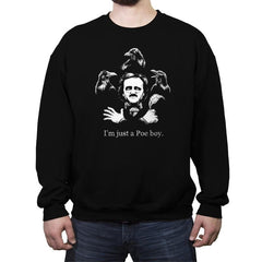 Just a Poe Boy - Crew Neck Sweatshirt - Crew Neck Sweatshirt - RIPT Apparel