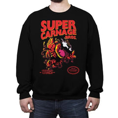 Symbi-Bros 2 - Crew Neck Sweatshirt - Crew Neck Sweatshirt - RIPT Apparel