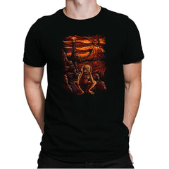 Scream In Modor - Pop Impressionism - Mens Premium - T-Shirts - RIPT Apparel