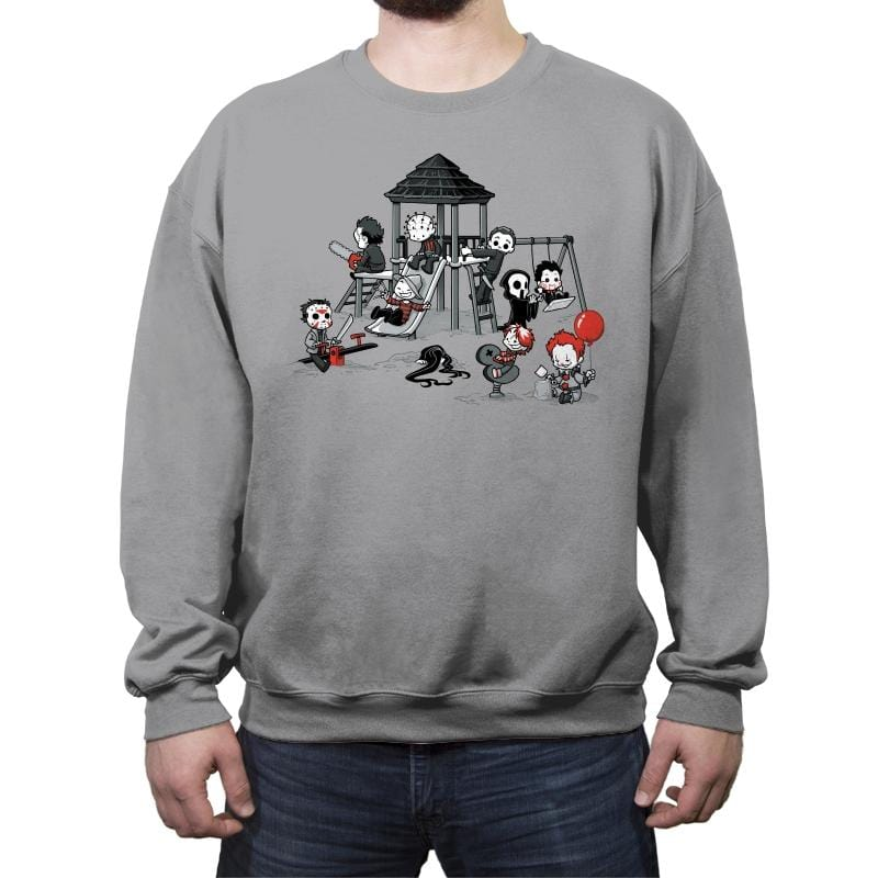 Horror Park - Crew Neck Sweatshirt - Crew Neck Sweatshirt - RIPT Apparel