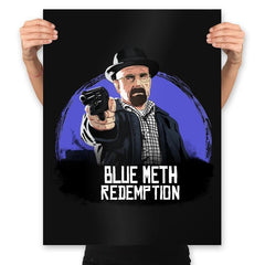 Blue Meth Redemption - Prints - Posters - RIPT Apparel