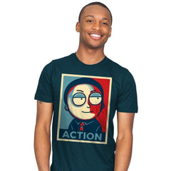 Now Is The Time For Action! - Mens - T-Shirts - RIPT Apparel