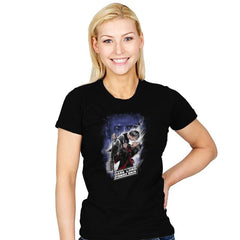 Dark Lord Strikes Back - Womens - T-Shirts - RIPT Apparel