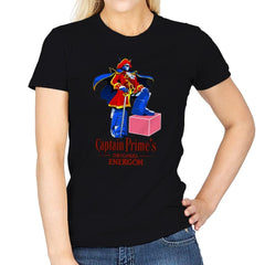 Captain P.'s Original Energon Exclusive - Shirtformers - Womens - T-Shirts - RIPT Apparel