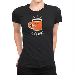 Coffedence - Womens Premium - T-Shirts - RIPT Apparel