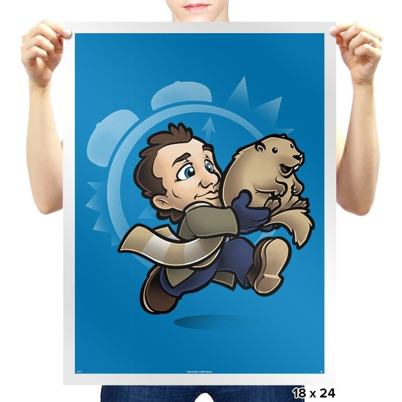 Super Groundhog Bros Exclusive - Prints - Posters - RIPT Apparel