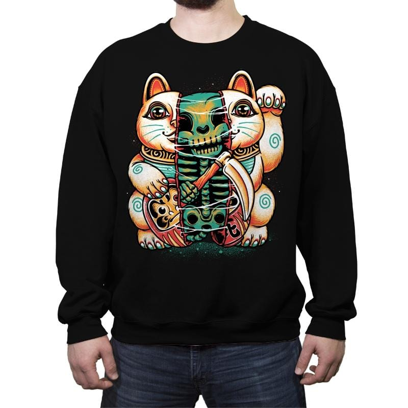 Out Of Luck - Crew Neck Sweatshirt - Crew Neck Sweatshirt - RIPT Apparel