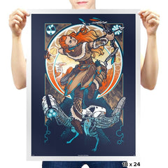Nouveau Dawn - Prints - Posters - RIPT Apparel