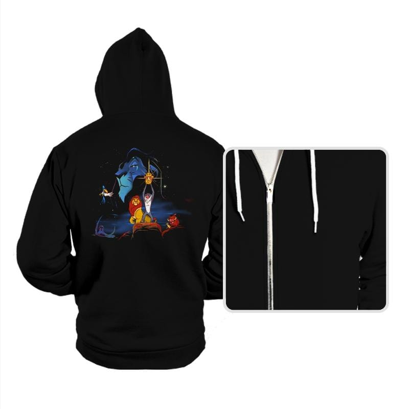 Lion Wars  - Hoodies - Hoodies - RIPT Apparel