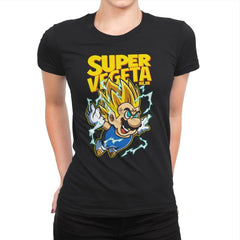 Super Vegeta Bros - Womens Premium - T-Shirts - RIPT Apparel