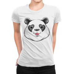 Panda Love - Womens Premium - T-Shirts - RIPT Apparel