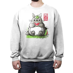 My Neighbor Watermelon - Crew Neck Sweatshirt - Crew Neck Sweatshirt - RIPT Apparel