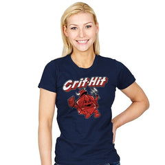 Crit-Hit - Womens - T-Shirts - RIPT Apparel