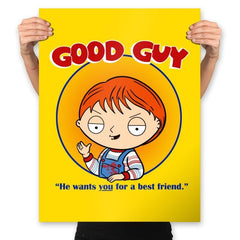 Good Guy - Prints - Posters - RIPT Apparel