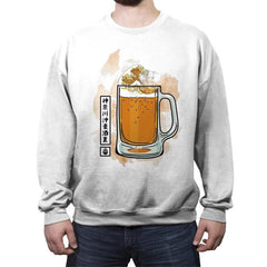 The great beer off Kanagawa - Crew Neck Sweatshirt - Crew Neck Sweatshirt - RIPT Apparel