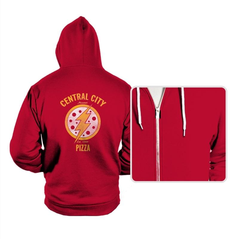 Central City Pizza - Hoodies - Hoodies - RIPT Apparel