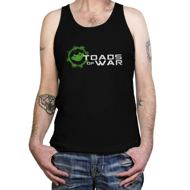 Toads of War - Tanktop - Tanktop - RIPT Apparel