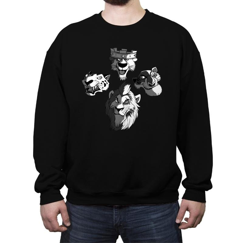 BadCat Rhapsody - Crew Neck Sweatshirt - Crew Neck Sweatshirt - RIPT Apparel